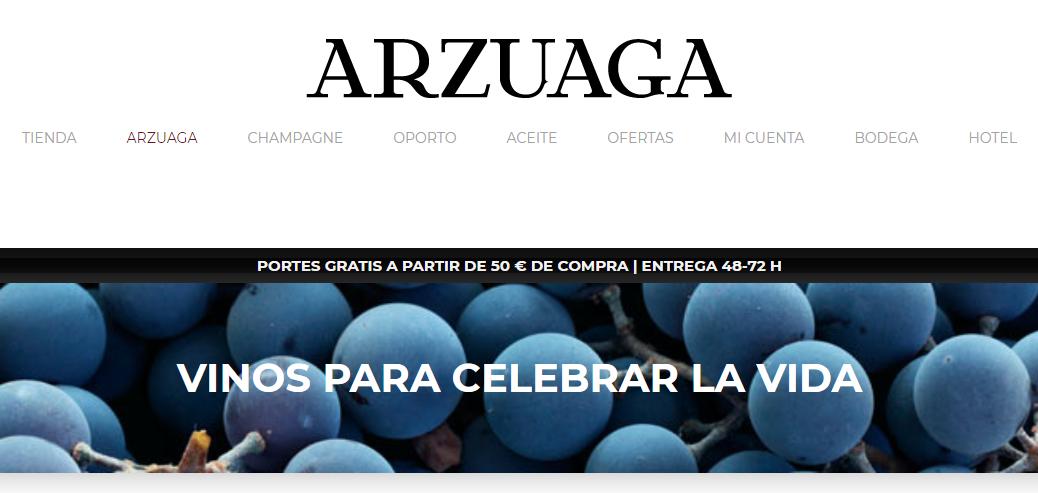 Cinco tienda online Arzuaga